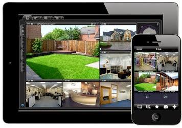 Bảng tra cứu phần mềm xem camera cho điện thoại - Cấu hình hệ thống camera xem qua điện thoại và internet
