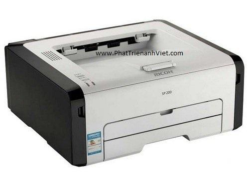 Máy in laser đen trắng RICOH Aficio SP200 khổ A4