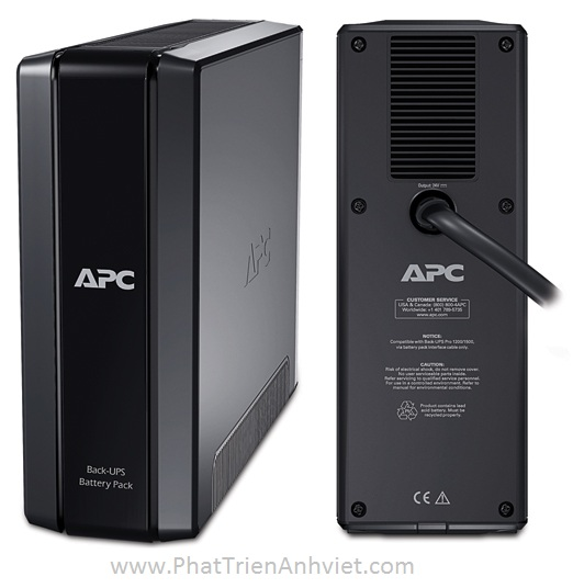 UPS/ Bộ lưu điện APC Back-UPS Pro External Battery Pack (for 1500VA Back-UPS Pro models) BR24BPG