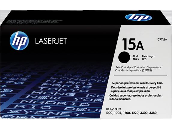 Mực In HP 15A Black Laserjet Toner Cartridge (C7115A)