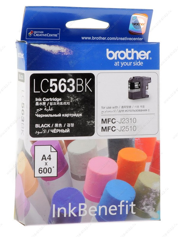 Ink Brother LC 563BK