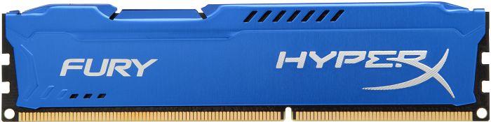 Bộ nhớ DDR3 Kingston 4GB (1600) Hyper X Fury (HX316C10F 4) (Xanh)