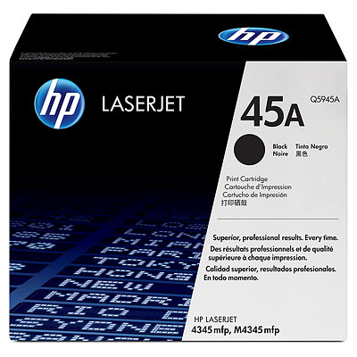 Hộp Mực in Hp 45A laser Q5945A Cartrigde - dùng cho máy in HP LaserJet 4345 MFP  printer series ( 18