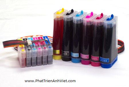 Bảng báo giá mực in màu - mực in phun màu - mực in laser màu - mực photocopy màu - HP, Canon, Epson,