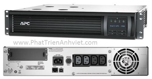 UPS/ Bộ lưu điện APC Smart-UPS 1500VA LCD RM 2U 230V SMT1500RMI2U