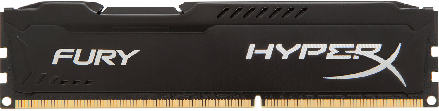 Bộ nhớ DDR3 Kingston 4GB (1600) Hyper X Fury (HX316C10FB/4) (Đen)