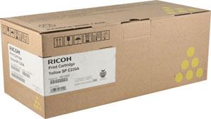 Mực in Ricoh SPC220S.4 (Vàng)
