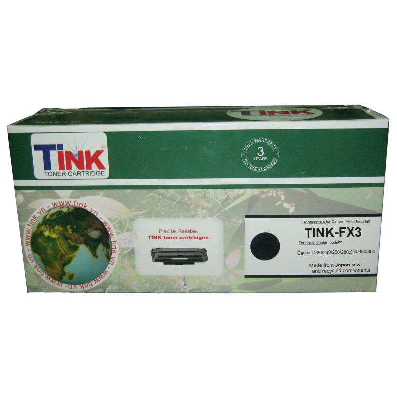 Tink FX3 (Mực Canon FX3) - Mực fax laser (Đen)