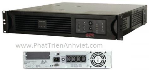 UPS/Bộ lưu điện APC Smart-UPS 1500VA USB & Serial RM 2U 230V (SUA1500RMI2U)