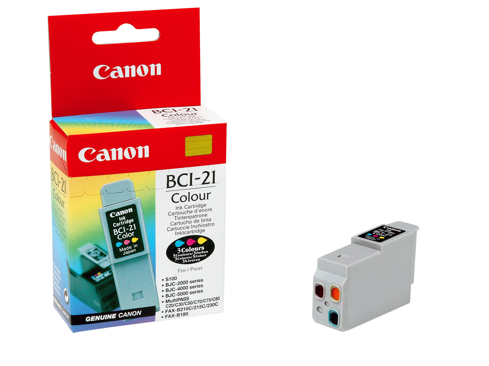 Ink Canon BCI 21C