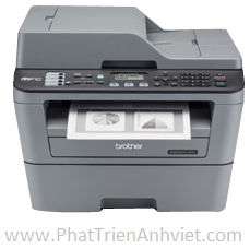 Máy in - fax Brother MFC-L2701DW Máy in đa chức năng 5 trong 1 với khả năng in đảo mặt tự động và kế