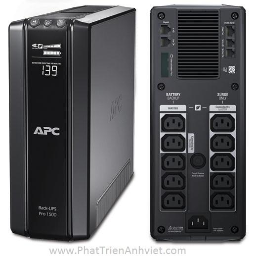 UPS/Bộ lưu điện APC Power-Saving Back-UPS Pro 1500, 230V BR1500GI
