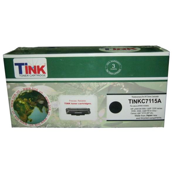 Tink 15A (Mực HP C7115A - 1200) - Mực in laser (Đen)