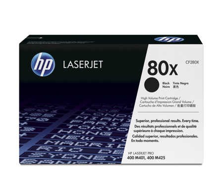 Hộp Mực in Hp 80X laser CE280X Cartrigde - dùng cho máy in HP LaserJet M401, M425 series ( 6.900 pag