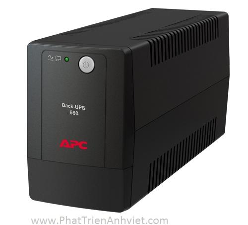 BỘ LƯU ĐIỆN APC BACK UPS 650VA/325W BX650LI-MS