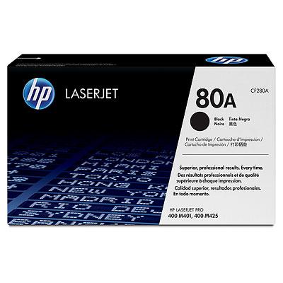 Mực in HP 80A (CF280A) Black laserjet toner cartridge - dùng cho máy M425dn,M401d, M401n, M401dn