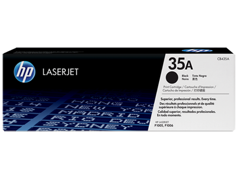Mực in Laser đen trắng HP CB435A-35A - hộp Dùng cho máy HP LJ P1005/1006