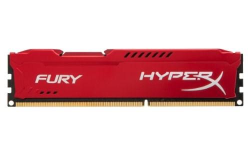 Bộ nhớ DDR3 Kingston 4GB (1600) Hyper X Fury (HX316C10FR/4) (Đỏ)