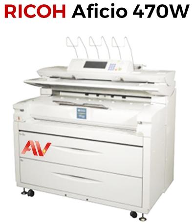 Máy photocopy khổ giấy A0 Ricoh Aficio 470W chính hãng giá tốt