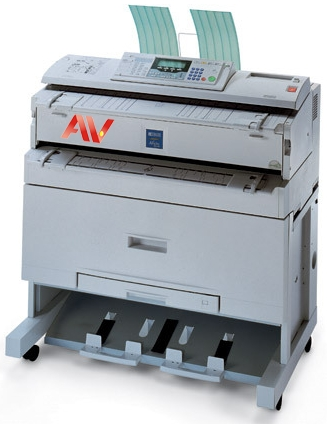 Máy photocopy khổ giấy A0 Ricoh Aficio 240W chính hãng giá rẻ