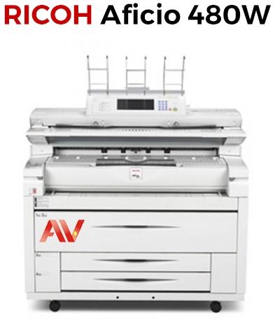 Máy photocopy khổ giấy A0 Ricoh Aficio 480W chính hãng giá tốt