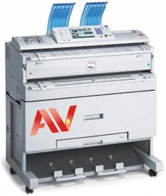 Máy photocopy khổ giấy A0 Ricoh Aficio MP2400W chính hãng giá rẻ