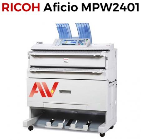Máy photocopy khổ giấy A0 Ricoh Aficio MPW2401 chính hãng giá rẻ