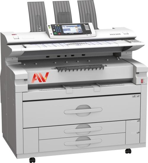 Máy photocopy khổ giấy A0 Ricoh W7140 chính hãng giá rẻ