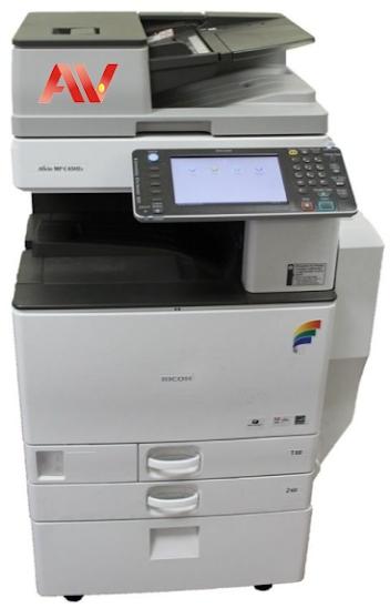 Bán và cho thuê máy photocopy màu Ricoh MP C5502 chính hãng giá tốt