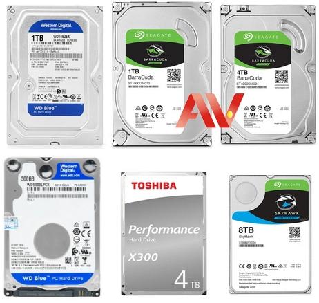 Bảng giá ổ cứng gắn trong HDD - ổ cứng HDD