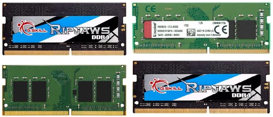 Bảng giá Ram laptop - bộ nhớ ram máy tính xách tay