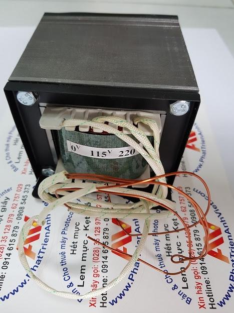 Biến áp 1,5KVA Đổi nguồn 1500 chuyên dùng gắn trong máy photocopy
