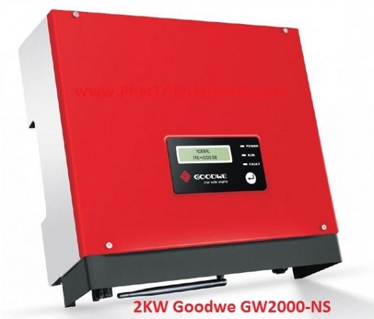 Biến tần Inverter hòa lưới 2KW Goodwe GW2000-NS