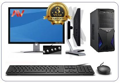 Bộ máy vi tính để bàn Desktop PC Văn Phòng Intel Core i3 9100 SSD 256GB 8GB 22 inch