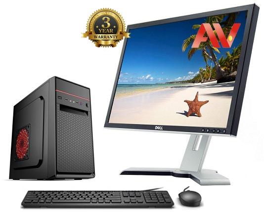 Bộ máy vi tính để bàn Desktop PC Văn Phòng Intel G5420 SSD 240GB 4GB 22 inch