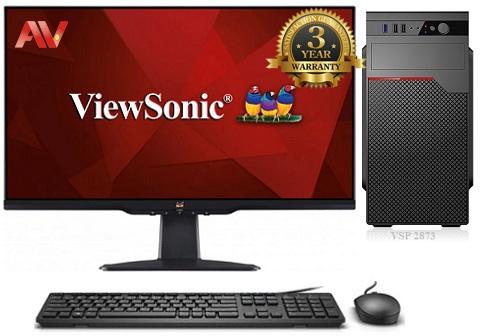 Bộ máy vi tính để bàn Desktop PC VIP 9th Intel Core i7 9700 Ram 8GB SSD 240GB LCD ViewSonic 22inch VA2201-H 75Hz FHD