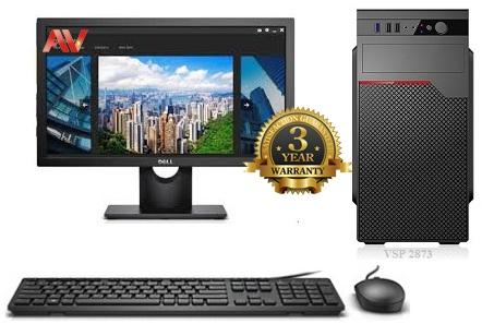 Bộ máy vi tính để bàn Desktop PC VIP Intel Core i7 9700 Ram 8GB SSD 240GB LCD Dell E1916HV