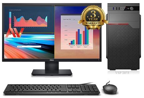 Bộ máy vi tính để bàn thế hệ 9 Desktop Intel Core i5 9400 Ram 8GB SSD 240GB LCD ViewSonic 22inch VA2220 75Hz FHD