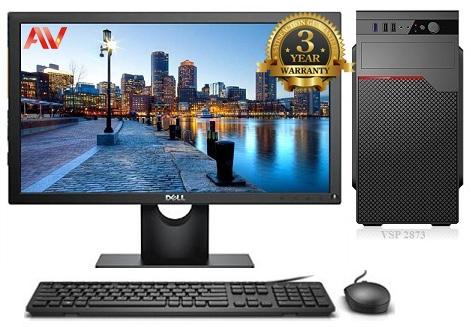 Bộ máy vi tính kế toán để bàn Desktop Intel Core i3 4150 Ram 4GB HDD 500GB LCD 19inch Dell E1916HV