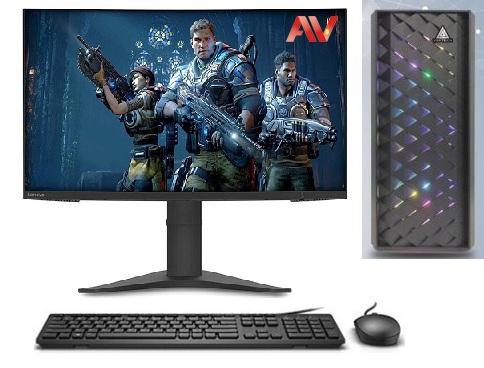 Bộ máy vi tính PC Gaming Gta V để bàn Desktop Intel Core i5 2500 Ram 8GB SSD 120GB HDD 500GB VGA Geforce GTX1030 2GB LCD Lenovo ThinkVision 22inch S22e-19 Full HD