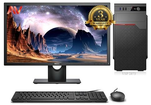 Bộ máy vi tính văn phòng cao cấp để bàn Desktop Intel Core i5 4570 Ram 8GB SSD 120GB HDD 500GB LCD 22inch Dell E2216HV Full HD
