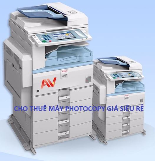 Cho thuê máy Photocopy chính hãng giá siêu rẻ