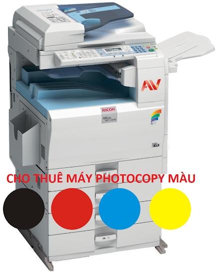 Cho thuê máy photocopy màu giá rẻ