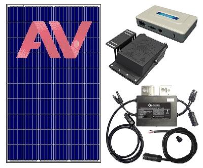 Điện Mặt Trời Hòa Lưới 1.5 KWP Với 4 Tấm Pin Bảo Hành 10 Năm