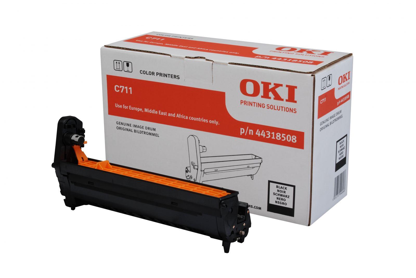 Drum laser màu OKI C711 Black Toner