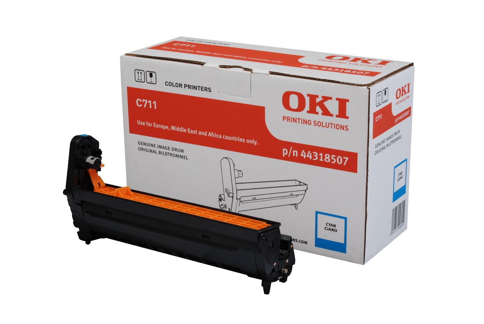 Drum laser màu OKI C711 Cyan Toner