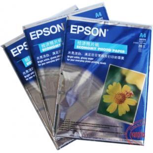 Giấy ảnh Epson hoa cúc A4
