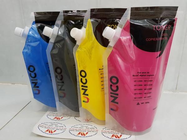 Magenta UNICO Bulk Powder Toner Refill for Ricoh MP C2003 C2500 C2503 C2800 C3000 C3001 C3003 C3300 C3501 C3503 C4000 C4501 C4503 C5000 C5501 C6003 MPC2003 MPC2503 MPCC3003 MPC3503 MPC4503 M6003