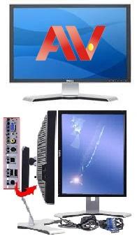 Màn Hình máy tính Dell UltraSharp 22 inch 2208WFP WIDE dùng trong đồ họa và giải trí