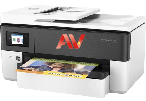Máy in HP OfficeJet Pro 7720 Wide Format All-in-One Printer khổ giấy A3
